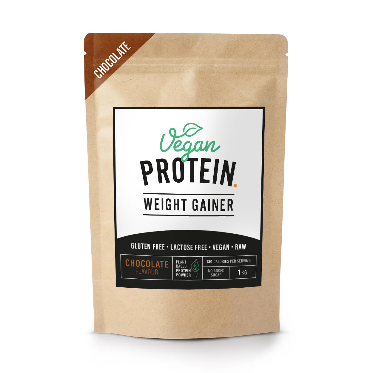 Vegan protein weight gainer chocolate